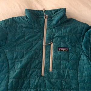 Patagonia Half-Zip Nano Puff Jacket